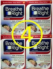 breathe right 104 ct EXTRA Nasal Strips (4/RED x 26 ct)