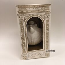 """Margaret Furlong 6"""" Madonna of the Flowers Angel Ornament Box Stand Good 1997"""