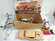AMT 1957 CHEVY car built but apart  Revell Drag  stock  KIt BOX- 1/25 SCALE