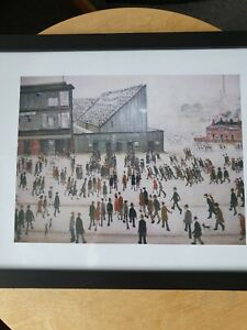 """L.s Lowry """"Going To The Football Match"""" Framed Print"""