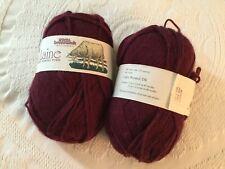 Brunswick Yarn - La Laine, 100% Superwash Merino Wool, 2 skeins
