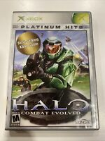 Halo: Combat Evolved (Microsoft Xbox, 2001) Complete -FREE SHIPPING!
