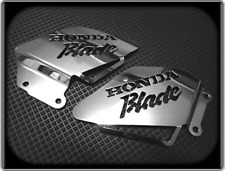 Heel Plates for HONDA CBR900RR FIREBLADE 92 to 95 - Polished Guards CBR 900 RR