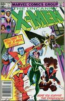 Uncanny X-Men #171-1983 fn- 5.5 Rogue joins the X-Men / Binary