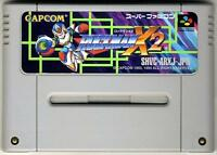 ROCKMAN X2 X 2 NINTENDO SUPER FAMICOM MEGAMAN CAPCOM SFC SNES JAPAN