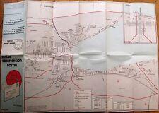 Matanzas, Cuba - Large Postal / Post Office Map of Zip/Post Codes