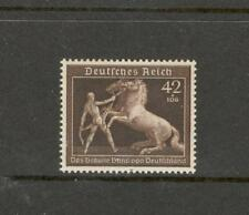 GERMANY 1939 SC# B145 ,mi# 699, WW II stamp, 3TH REICH Brown Race horse Derby MH