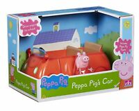 Peppa Pig RED FAMILY CAR - Push Along Vehicle - NEW