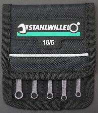 STAHLWILLE 16/5 Mini Ringmaulschlüssel Satz, 5-tlg. NEU