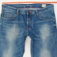 Mens Tommy Hilfiger HUDSON Straight Blue Jeans W36 L32