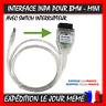 INTERFACE CABLE K+DCAN CAN USB OBD2 BMW SCANNER DIAGNOSTIQUE INPA EDIABAS +