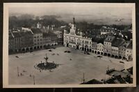 1942 Budweis Bohemia Moravia RPPC Postcard Cover FDC 3 Years In Germany