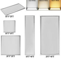 Led Panel Light 64W 42W 36W 18W 12W Suspended Recessed Ceiling Flat Down Fixture
