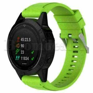 For Garmin Fenix 5X 3 HR Watch 26mm Silicone Wristband Quick Install Band Strap