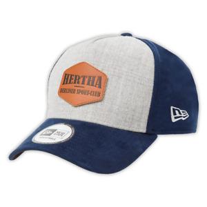 Hertha BSC Flatcap Basecap Cap Logo Navy