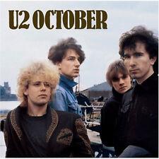 U2 - October [New CD] Rmst