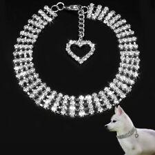 Mode Hund Haustier Kragen Diamant-Schmuck Herz Halskette-Nue Kragen Zubehör