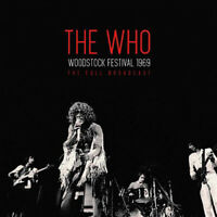 WOODSTOCK FESTIVAL 1969  by WHO, THE  clear Vinyl Double Album  DET005