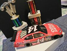 TONY STEWART #14 Old Spice/Office Depot 1:24 scale die-cast 2009 Race car ~ FUN!