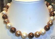 """AAA 8mm Südsee Multicolor Shell Perlenkette 18"""""""