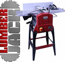 "Planer Thicknesser 240v 2 Blades 10"" x 5"" Cast Bed Trade Quality Legs Included"