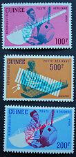 Timbre GUINEE / GUINEA Stamp - Yvert et Tellier Aériens n°19 à 21 n** (Cyn20)
