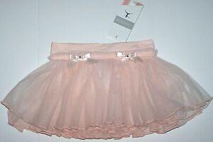 Danskin Tulle Dance Skirt 2 Layers Pull On Pink     New Child Girl I/M 6X-10