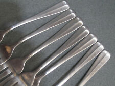 7 Barclay Geneve OYSTER BAY Salad Dessert Fork Stainless Steel