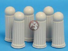 Tank Workshop 1/35 Ornate Stone Pillars (Height 4cm) (6 pieces) [Diorama] 354006