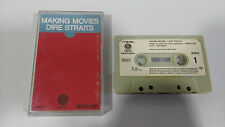 DIRE STRAITS MAKING MOVIES CINTA TAPE CASSETTE VERTIGO 1980 7150034 PAPER LABELS