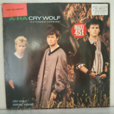 "a-ha ‎– Cry Wolf (Extended Version) - Vinyl, 12"", 45 RPM - 1986"