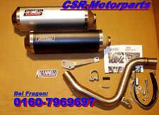 KTM Duke 125 Auspuff Anlage Endtopf + Krümmer pipe Giannelli Arrow ABE NEU A1-A4