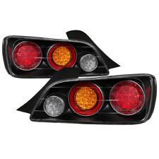 Fit Honda 04-09 S2000 Black LED Rear Tail Brake Lights Lamp Left & Right