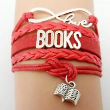 Lovely love books  Bracelet.Stunning In Organza Gift Bag...