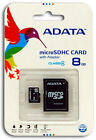 New ADATA Class 4 8GB MicroSD Micro SD SDHC TF Flash Memory Card 8 GB G 8G