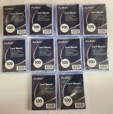 1000 PRO-безопасной мягкий коллекционной карточки пакетиках антикоррозийной без ПВХ Покемон