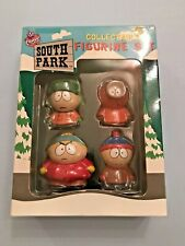 SOUTH PARK COLLECTIBLE FIGURINE GIFT SET UNOPENED RARE CARTMAN KENNY KYLE STAN