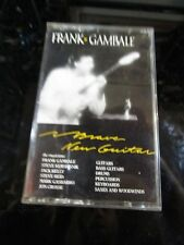 Frank Gambale Brave New Guitar Cassette Tape Electric Jazz~