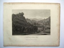 North View of Matlock Bath (published May 15th, 1817)