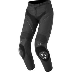 Alpinestars Stella Missile Womens Leather Pants (26, Black)
