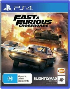 Fast & Furious Crossroads - PS4 VERY GOOD FREE POST + TRACKING !