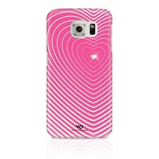 White Diamonds Galaxy S6 Heartbeat Case Cover for Samsung Galaxy S6 - Pink