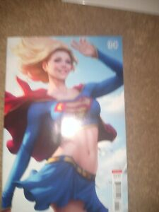 Supergirl #28 B Stanley Artgerm Lau Variant VF+/NM