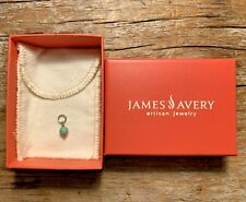 James Avery Sterling Silver .925 Turquoise Bead Charm