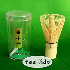 BAMBOO WHISK, Matcha Green Tea, fatti a mano:...... cerimoniale 80, 100, 120 RAMI
