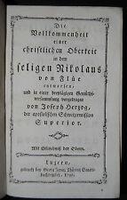 Herzog – Nicolás de Flüe – Lucerna 1792