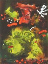 Postcard Paul Klee Women in Their Sunday Best Unused MINT