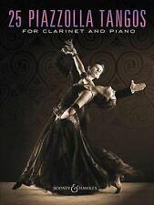 25 Piazzolla Tangos for Clarinet and Piano by Boosey & Hawkes Inc (Paperback...