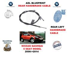 Per NISSAN QASHQAI 5 SEAT modello 2006-2014 Posteriore Sinistra Freno A Mano Cavo 36531JD00A