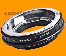 Voigtlander Bessamatic Kodak Retina DKL lens to CANON EOS mount adapter ring